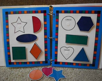 Shapes Printable Game