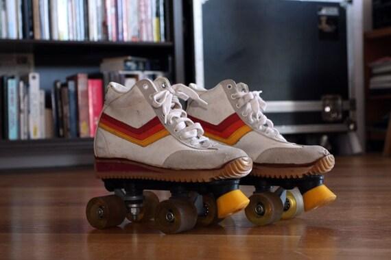 black friday sale vintage 1970s sneaker roller skates. Black Bedroom Furniture Sets. Home Design Ideas