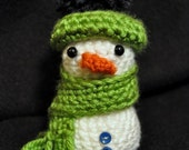 Snowman Ornament with Hat