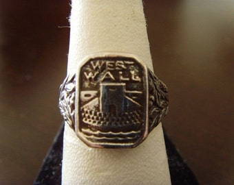 Sterling  STALINGRAD WESTWALL 1939/40 ring