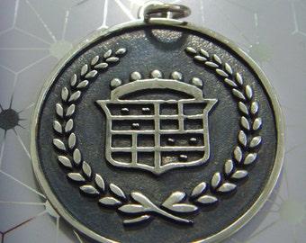 Rare car CADILLAC PRESIDENTIAL sterling silver 925 pendant