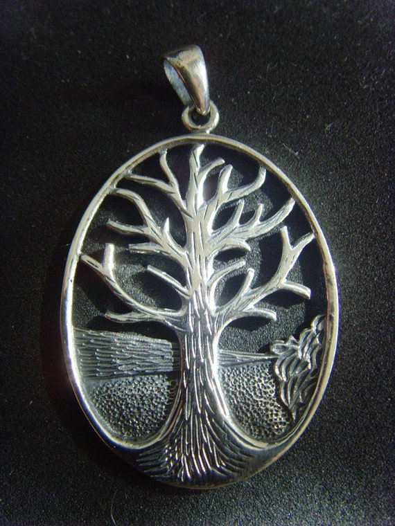 DESIGNER sterling silver 925 pendant tree of life INTERCONNECT NEW