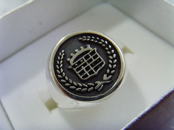 Rare car CADILLAC PRESIDENTIAL sterling silver 925 ring