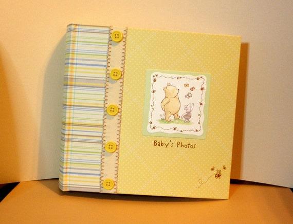 classic pooh photo album by disney winnie the pooh baby