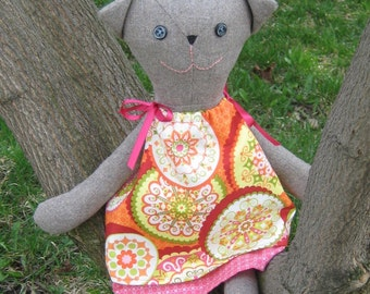 Cat - Soft Toy Sewing Pattern