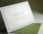 Holiday Cards - Peace Holiday Card Set