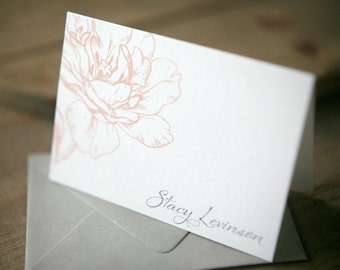 Personalized Stationery - Bloom Note Set