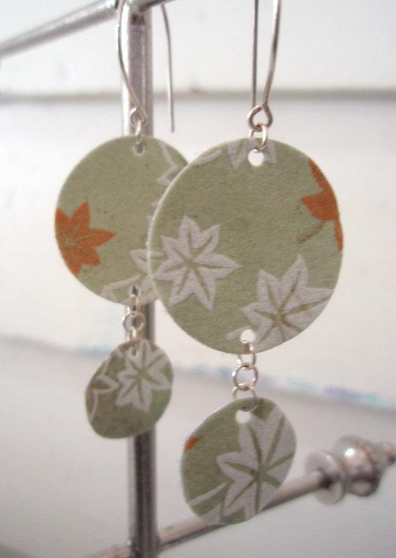 Fall Leaves Chandelier Earrings