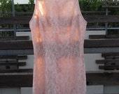 Lovely Pastel Pink Lace Dress