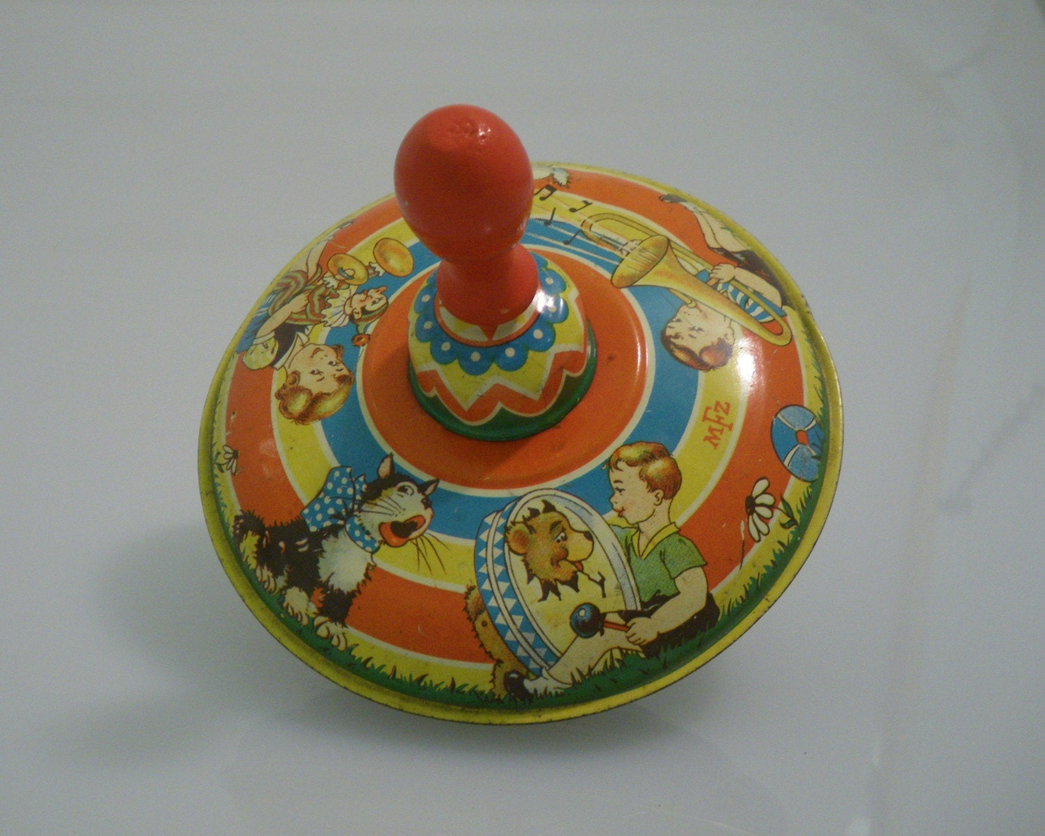 Retro Top Toys : The gallery for gt vintage spinning top toy