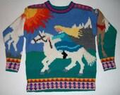 Nine/Ten Year Horses Sweater