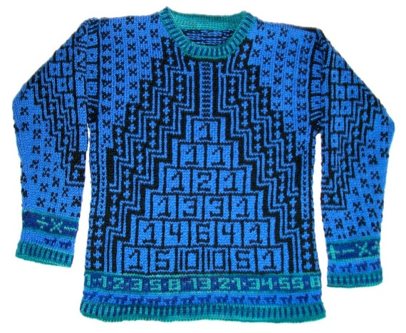 Seven/ Eight Year Math Sweater