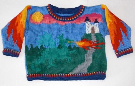 One Year Dragon Sweater