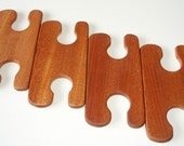 Inkle loom shuttles - Sapele 11.2cm - set of 4