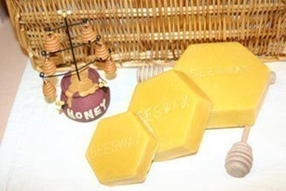 5 lbs Pure Beeswax FREE SHIPPING