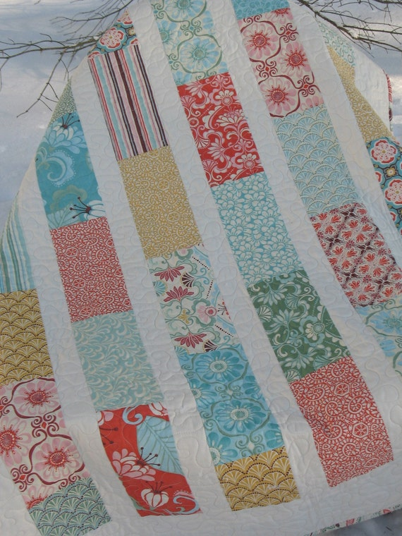 Fandango by Kate Spain Lap or Baby Quilt---pattern also available