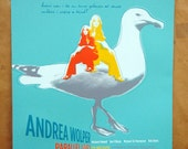 Andrea Wolper Parellel Lives - hand pulled screenprint poster