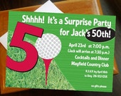 Milestone Golf Birthday Invite (customized for you)