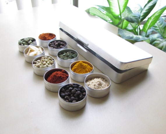 small ETHIOPIAN MakeAMeal Spice Kit - 10 spices and Recipes for you to make a complete meal