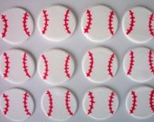 Baseball Cookie or Cupcake Toppers