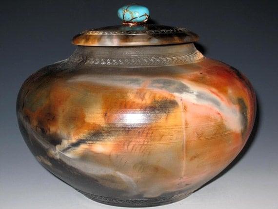 Urn Jar Vase Pet Urn Saggar Kingdom of Good Luck