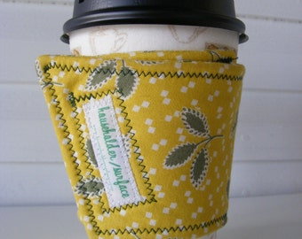 Coffee Cuff - Piney Woods Thistle Leaf
