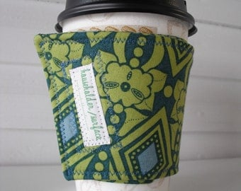 Coffee Cuff - Lime Jewels