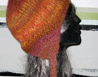 DEBORAHA  JEAN  EARFLAP     Hat--Mohair--Warm-- Winter--