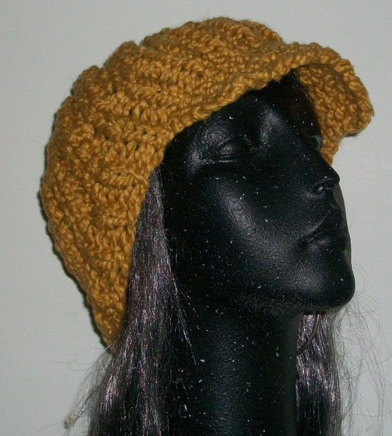 HAT WOMEN KNITTED Over sized Slouchy Beanie Cap Flap