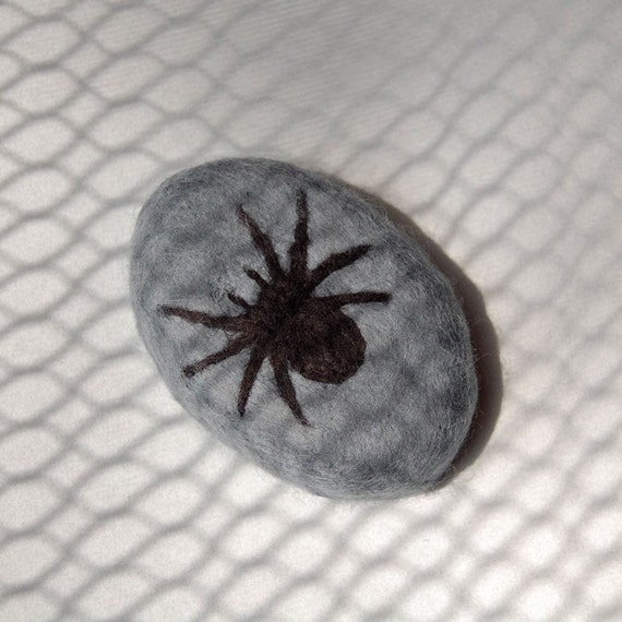 Spider ( Felted Lavender Soap )