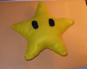 Super Mario Invincibility star (starman) Plushie