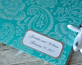 Custom Name Plate for your Wedding or Baby Shower Guest Book