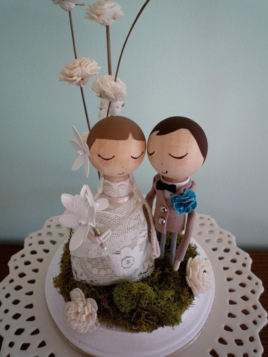 Custom Keepsake Wedding Cake Topper