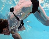 """Somersault: Matted 11x14"""" Archival Print -  Signed"""