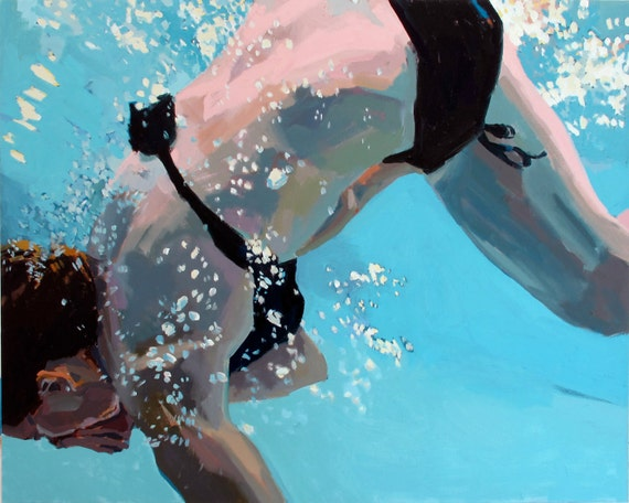 """Somersault:  7.5x9.5"""" Archival Print -  Signed"""
