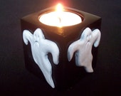 Ghost Halloween Tealight Holder