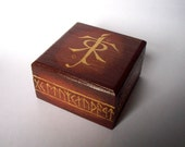 RESERVED FOR MEGGIESHEEP - Tolkien Trinket Box