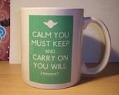 Star Wars Keep Calm and Carry on mug