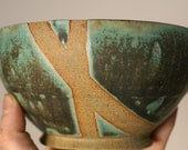 RESERVED: Handmade Turquoise Bowl