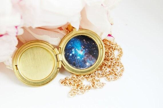 Hidden Galaxy Locket - Small