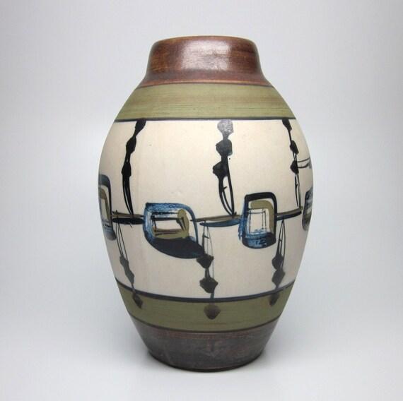 Mid Century Modern Vase - Harsa Israel