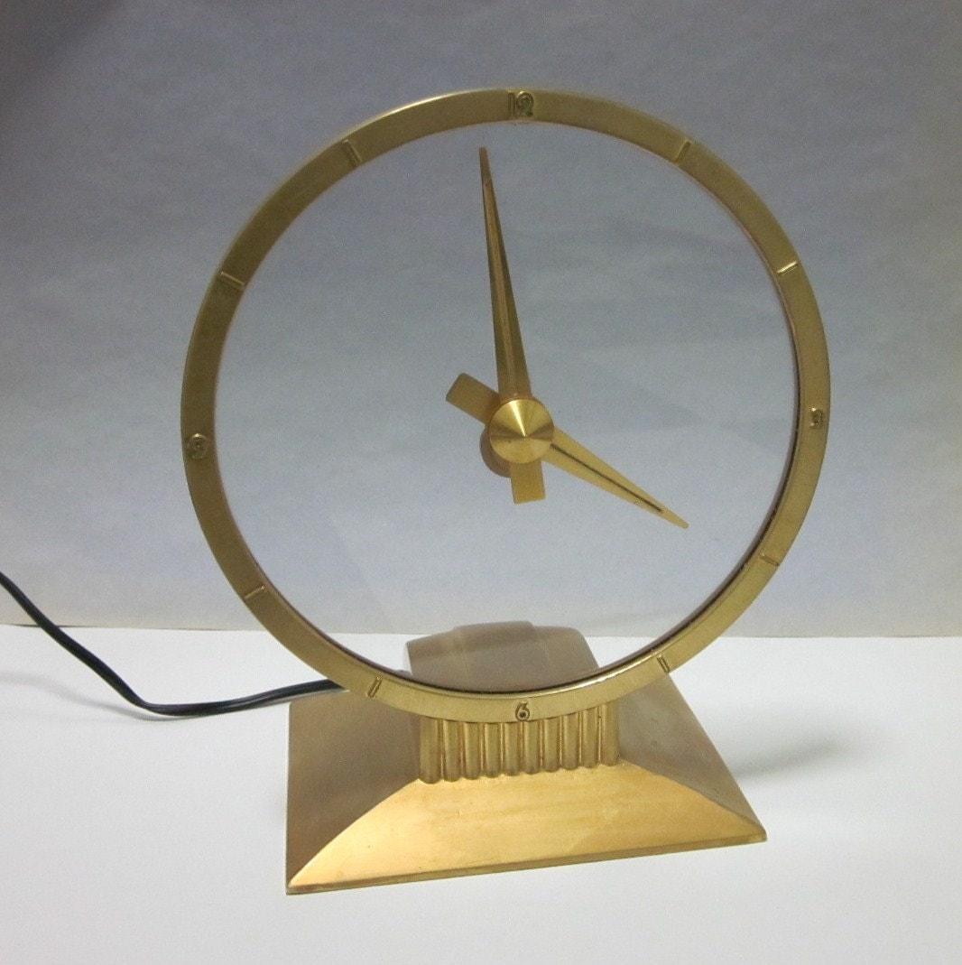 Jefferson Golden Hour Mystery Clock Mid Century By Sweartomod