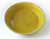 Yellow Pie Plate, 9 inch