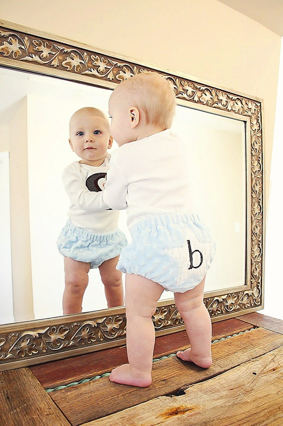 Personalized Baby Diaper Cover- Minky diaper cover- Newborn diaper cover- baby bloomers-photo prop