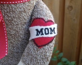 Sock Monkey Doll-Mom Tattoo