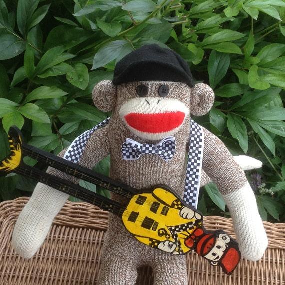 Rock Sock Monkey Doll, Rick Nielsen inspired