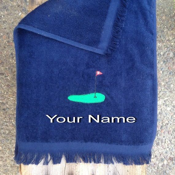 Golf Towel- Embroidered and Personalized