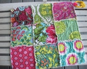 Rag Quilt Lovey in Amy Butler's Soul Blossoms