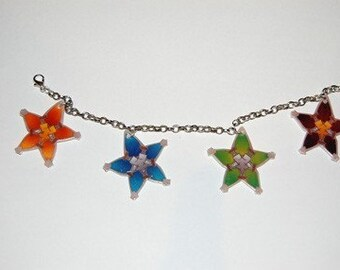 Kingdom hearts Birth by Sleep lucky charm bracelet
