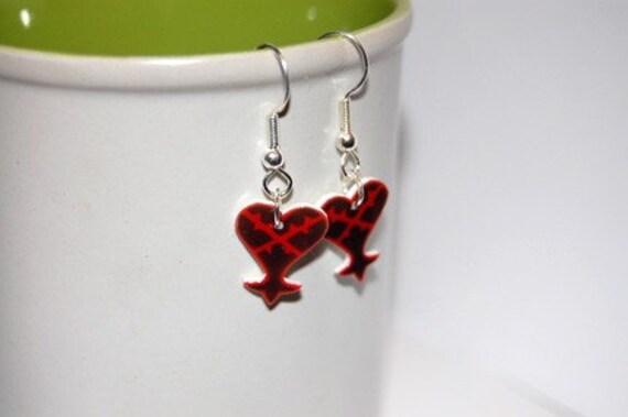 Kingdom Hearts Heartless earrings